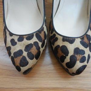 Calvin Klein Shoes - $145~CALVIN KLEIN~Leopard MALISSA Platform Pumps